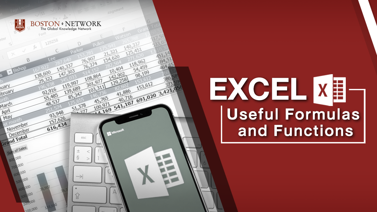 Excel Useful Formulas and Functions